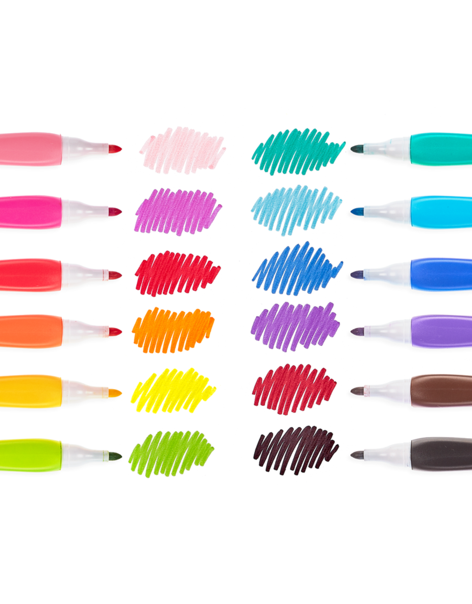 Ooly SMOOTH HUES MARKERS - SET OF 12