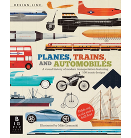 DESIGN LINE: PLANES, TRAINS, AND AUTOMOBILES By CHRIS OXLADE & Illustrated by MIKE LEMANSKI