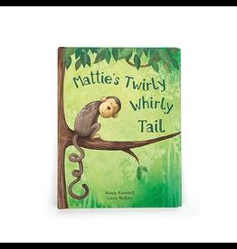 Jellycat Jellycat BK4MTUS Mattie's Twirly Whirly Tail Book