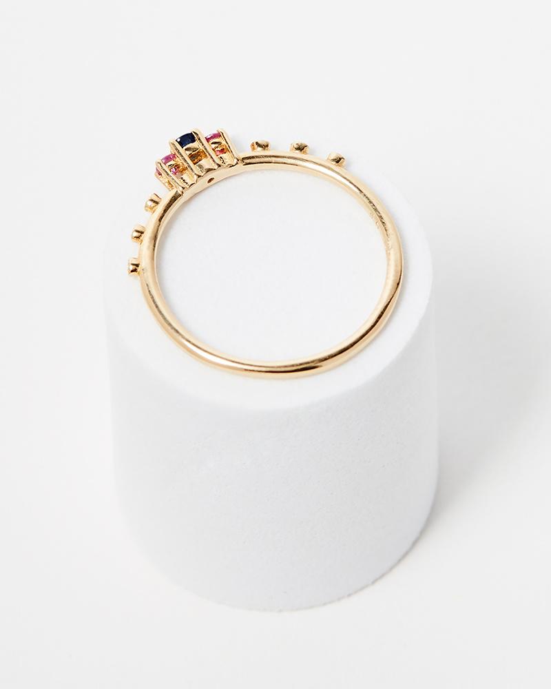 Jennie Kwon Sapphire Beacon Ring
