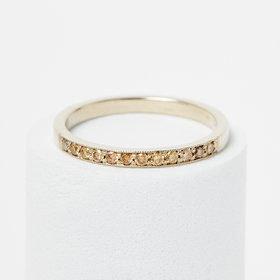 Jennie Kwon Champagne Diamond Milli Band