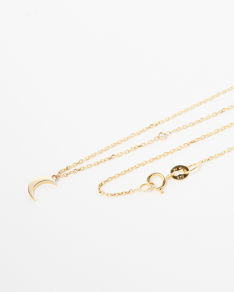 Jennie Kwon Moon and Stars Necklace