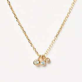 Jennie Kwon Moon Drop Necklace