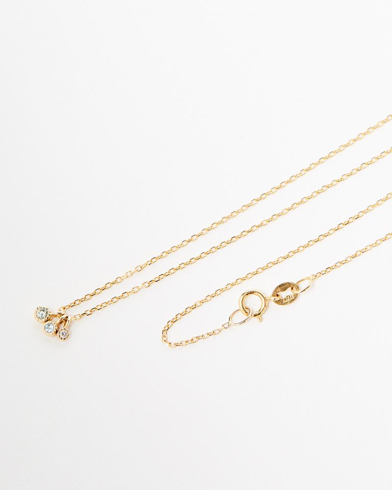 Jennie Kwon Moon Drop Necklace