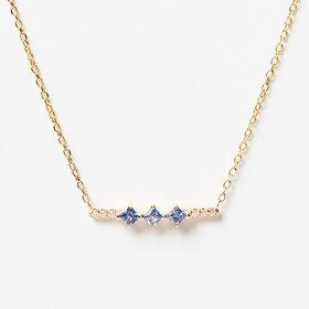 Jennie Kwon Sapphire Harmony Necklace