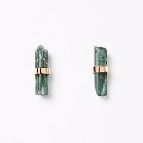 Melissa Joy Manning Tourmaline Stick Earrings