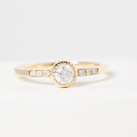 Nine Roses The Cary Ring — Yellow Gold