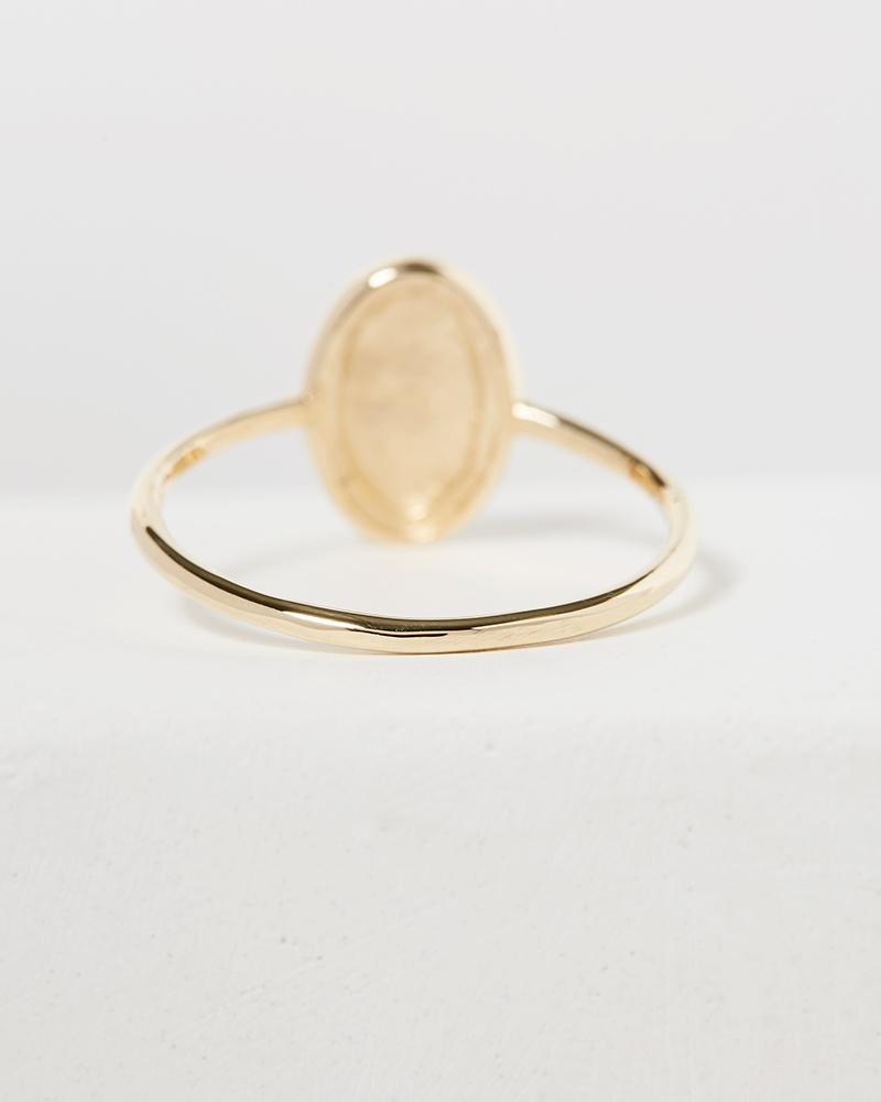 Jennie Kwon Oval Milli Ring