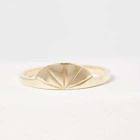 Jennie Kwon Deco Fan Ring