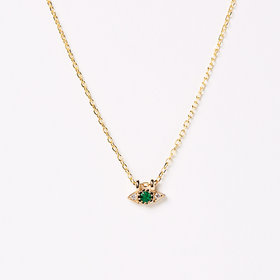 Jennie Kwon Emerald Spear Necklace