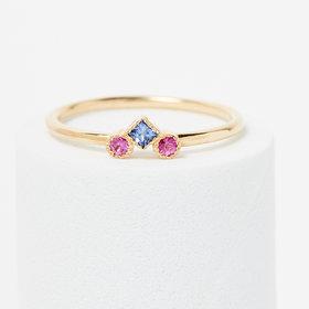 Jennie Kwon Sapphire Pillar Ring