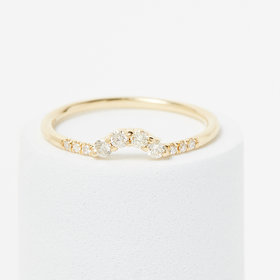 Jennie Kwon Diamond Arch Ring