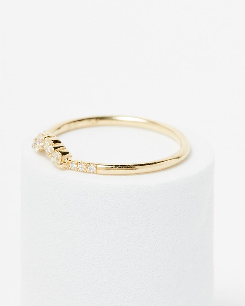 Jennie Kwon Diamond Arch Ring
