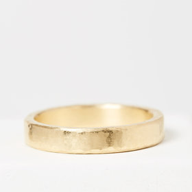 Men's wedding bands Hammered Men's Band