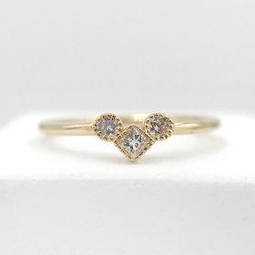 Jennie Kwon Diamond Pillar Ring