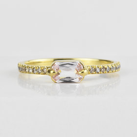 Elizabeth Street Jewelry Lavender Sapphire Ring