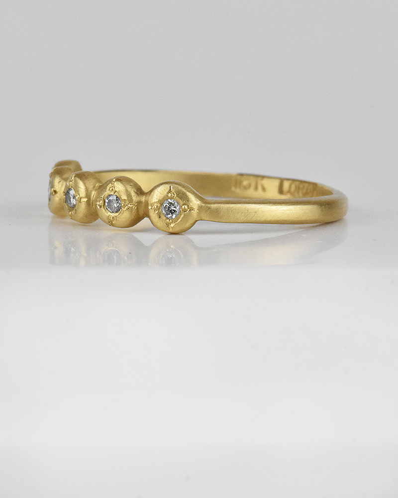 Lorak Annie Ring (18k/ diamonds)