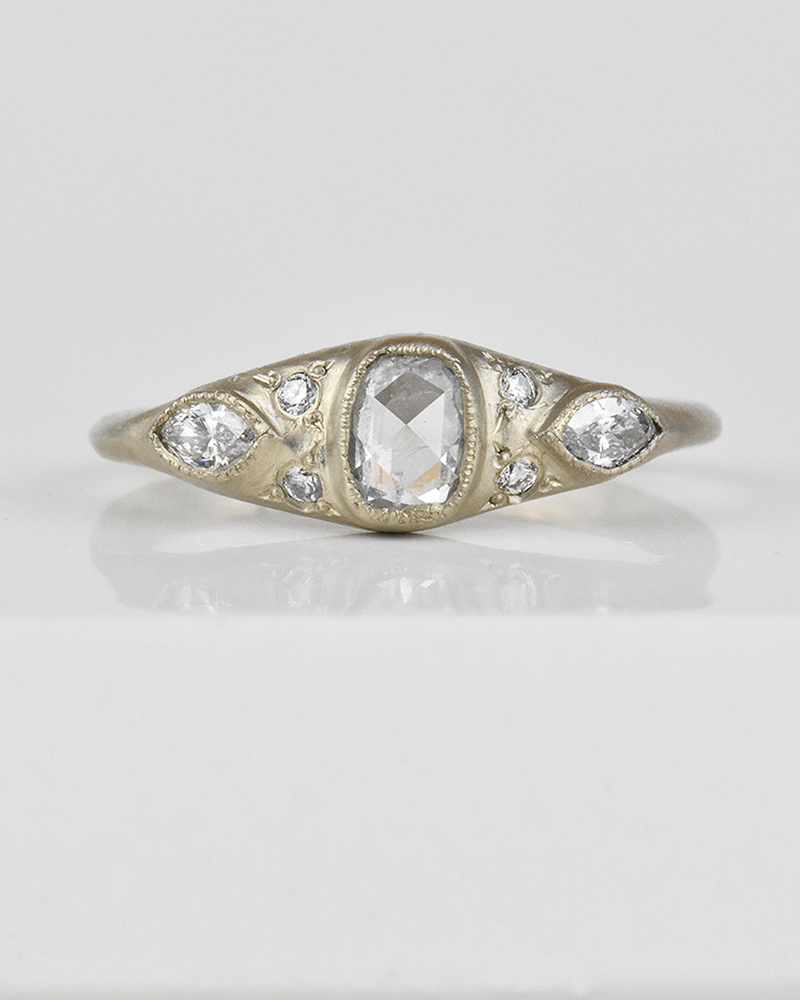 Lorak Marquise Rose Ring