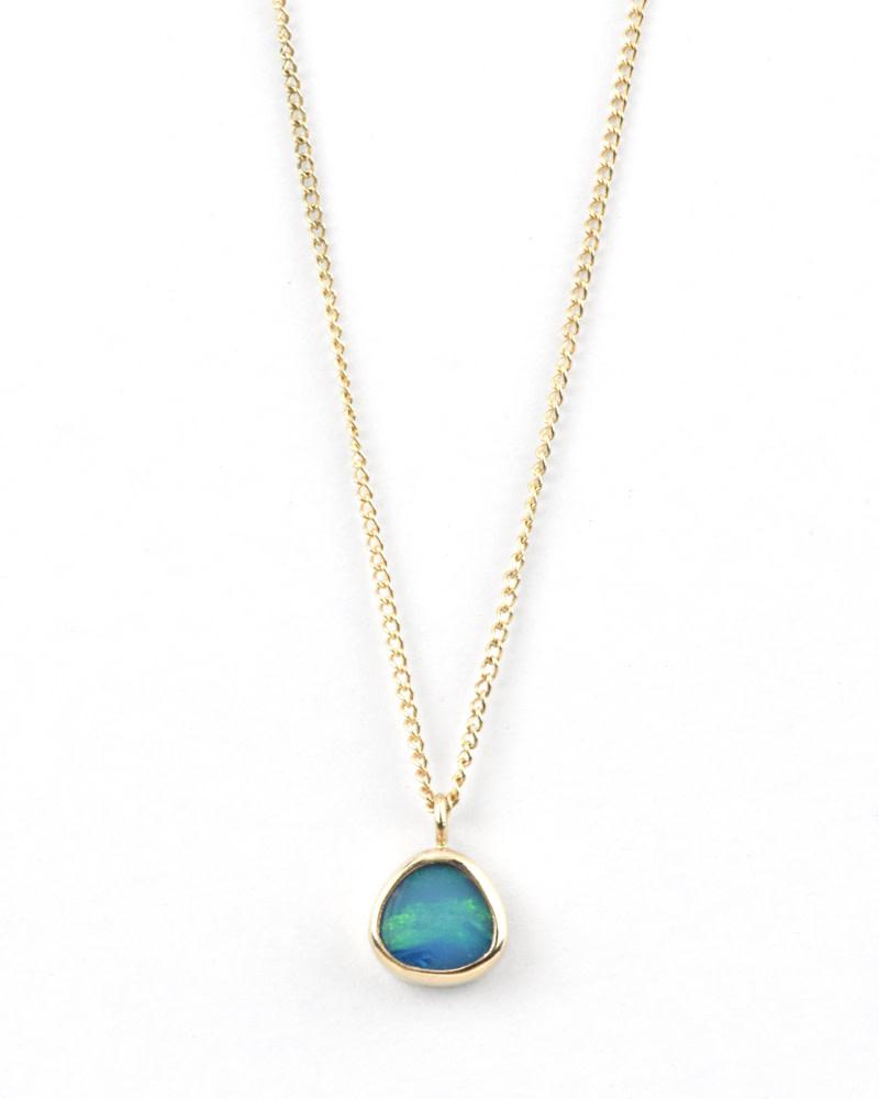 Melissa Joy Manning Opal Necklace 14k