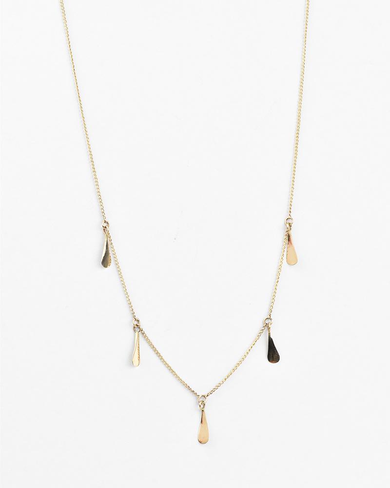 Melissa Joy Manning Gold Seed Necklace
