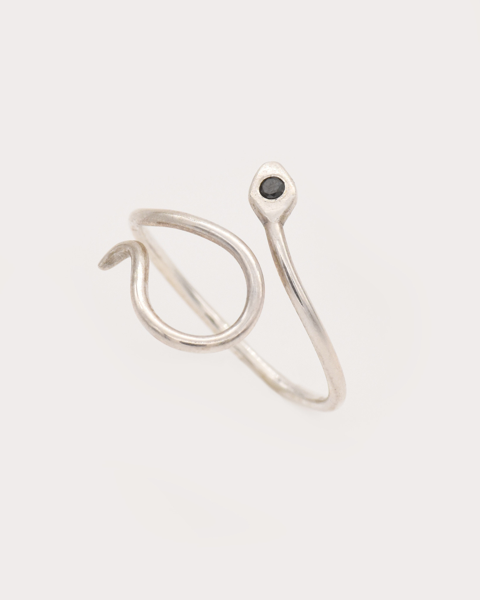 Adriatic Curved Snake Ring