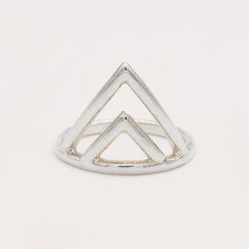 Adriatic Double V Ring