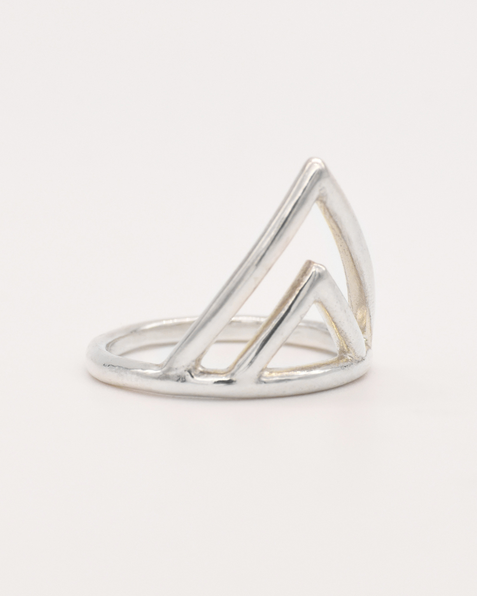 Adriatic Double V Ring