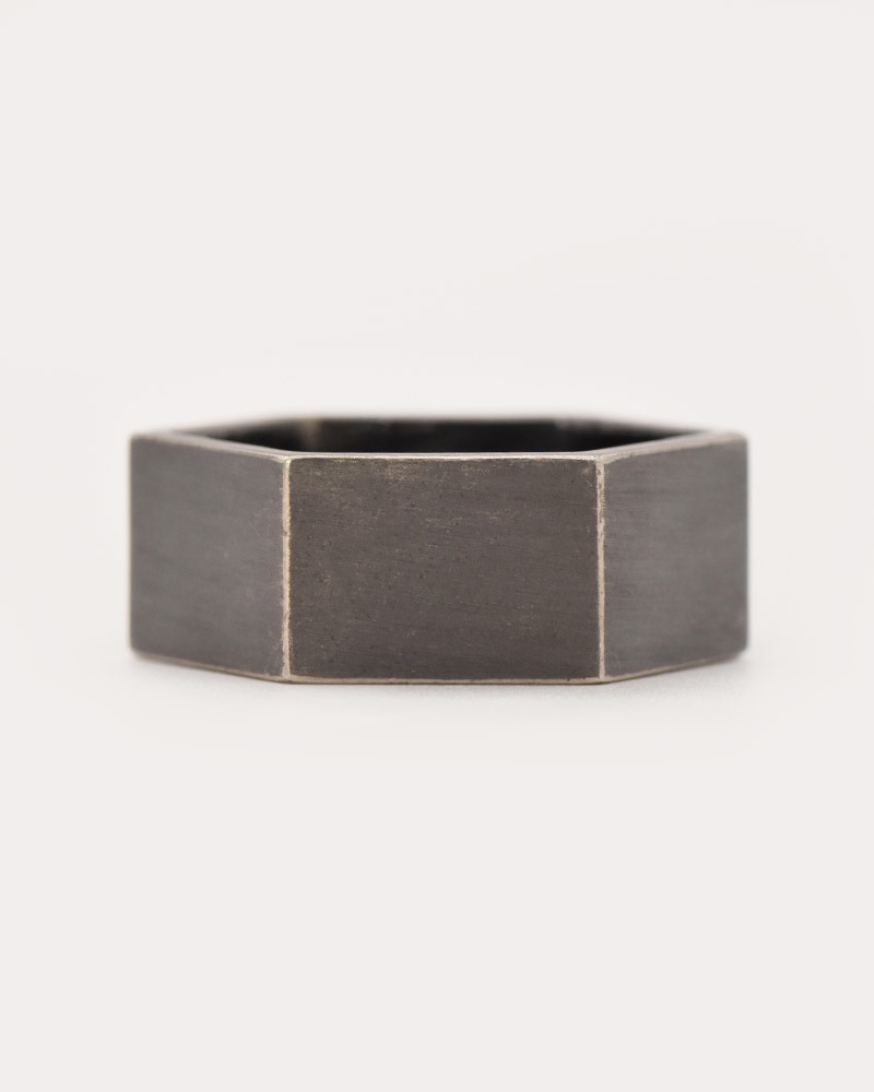 Nvit Blanche Hex Band