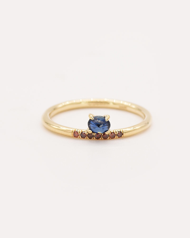 Sapphire Stacked Ring