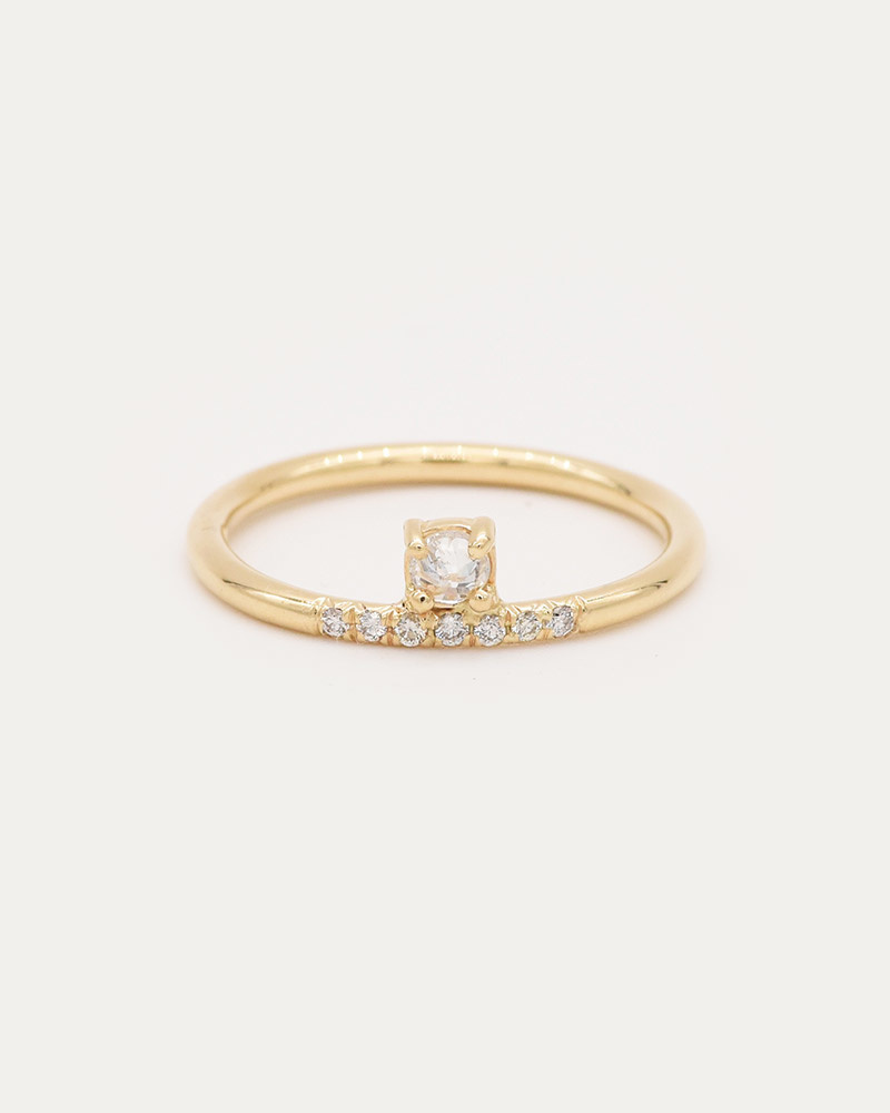 Stacked Diamond Ring