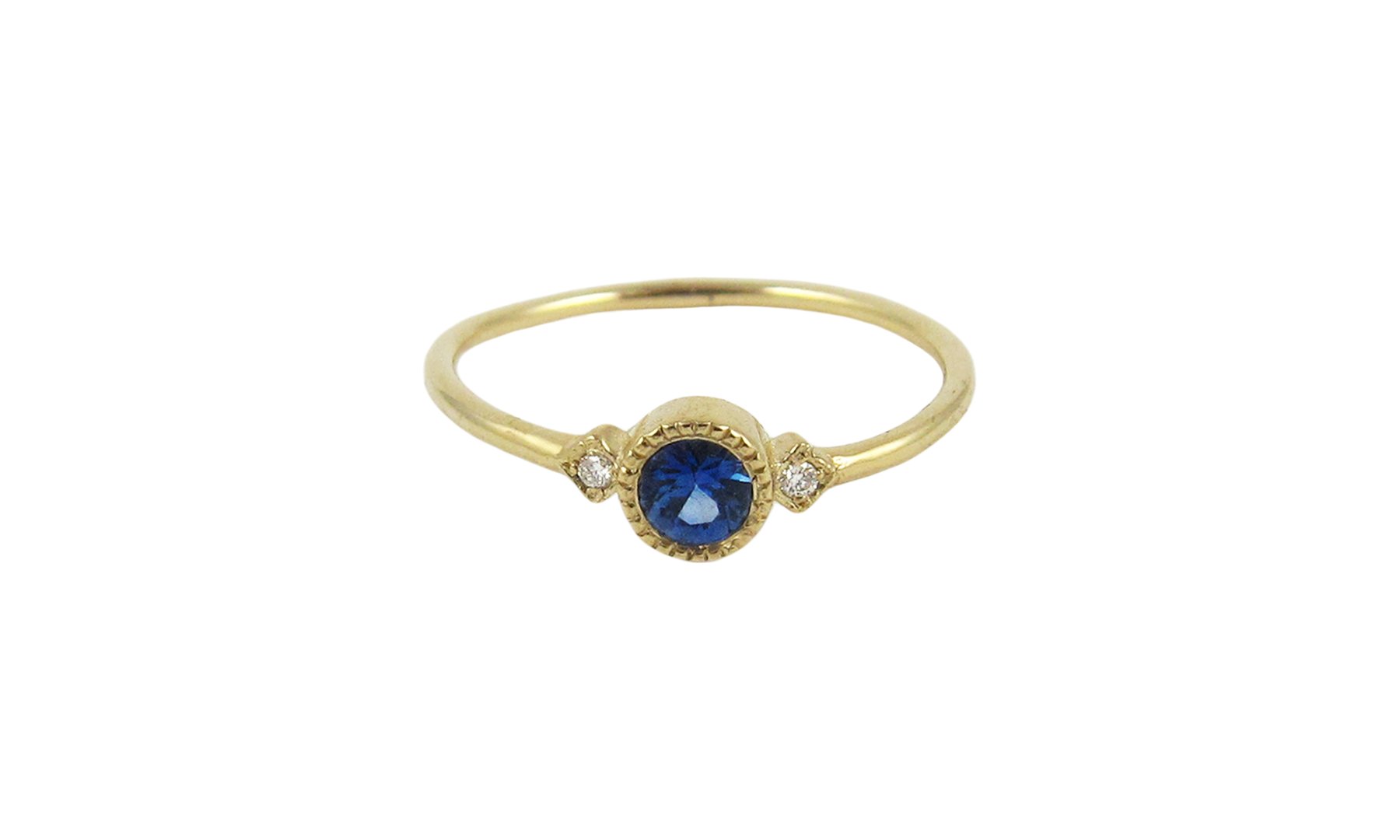 Jennie Kwon Sapphire Sotto Voce Ring