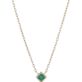 Jennie Kwon Emerald Necklace