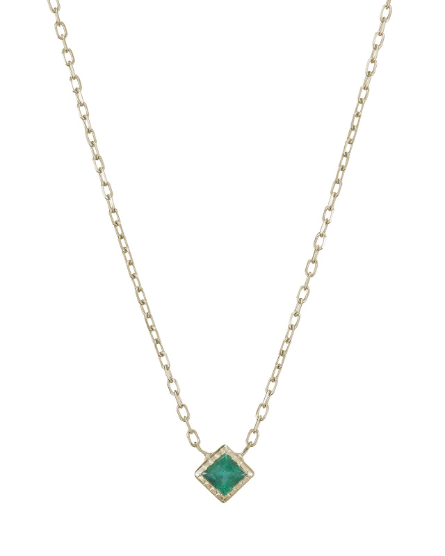 Jennie Kwon Emerald Necklace
