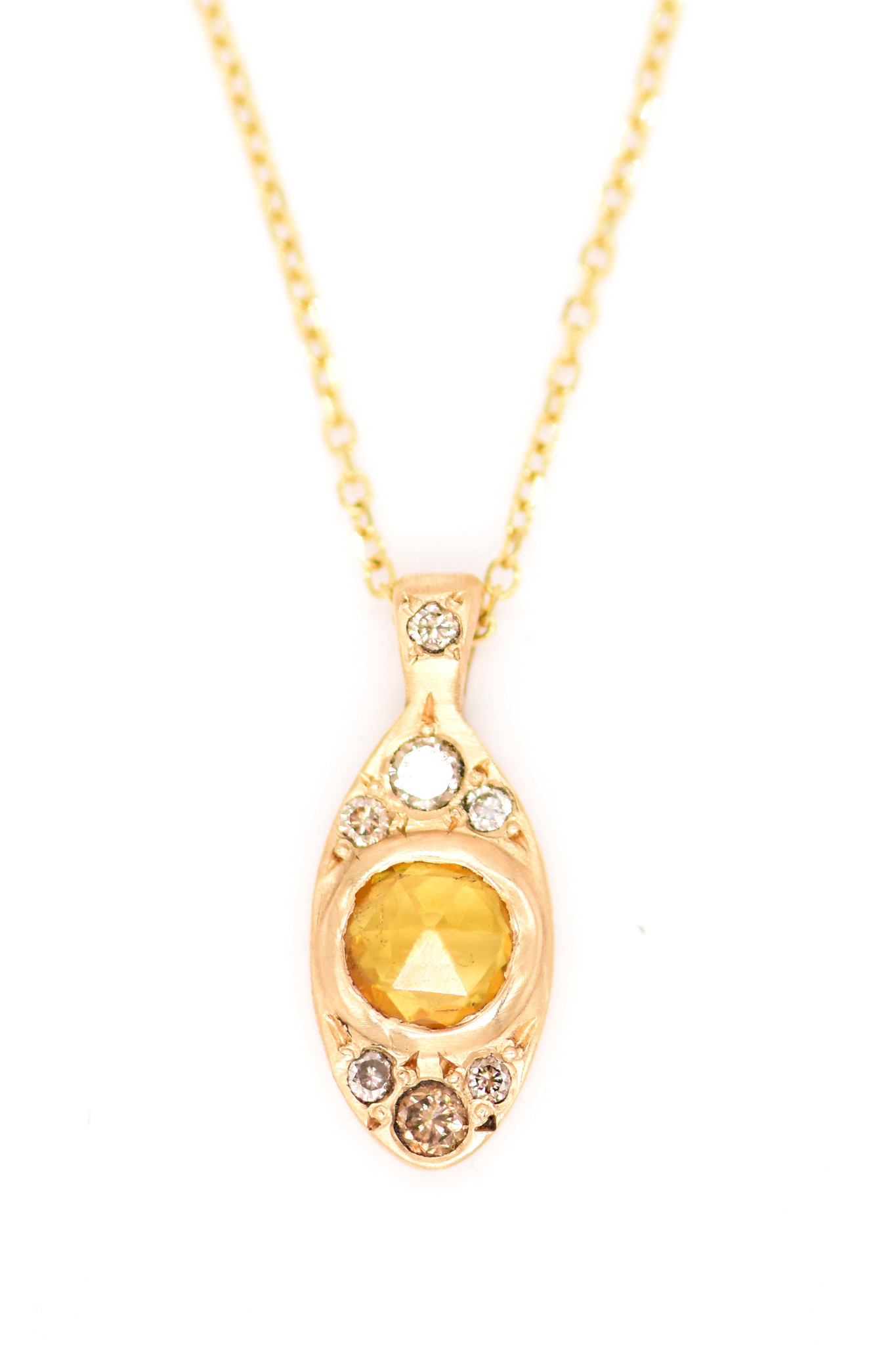 Lorak Winged Rose Necklace