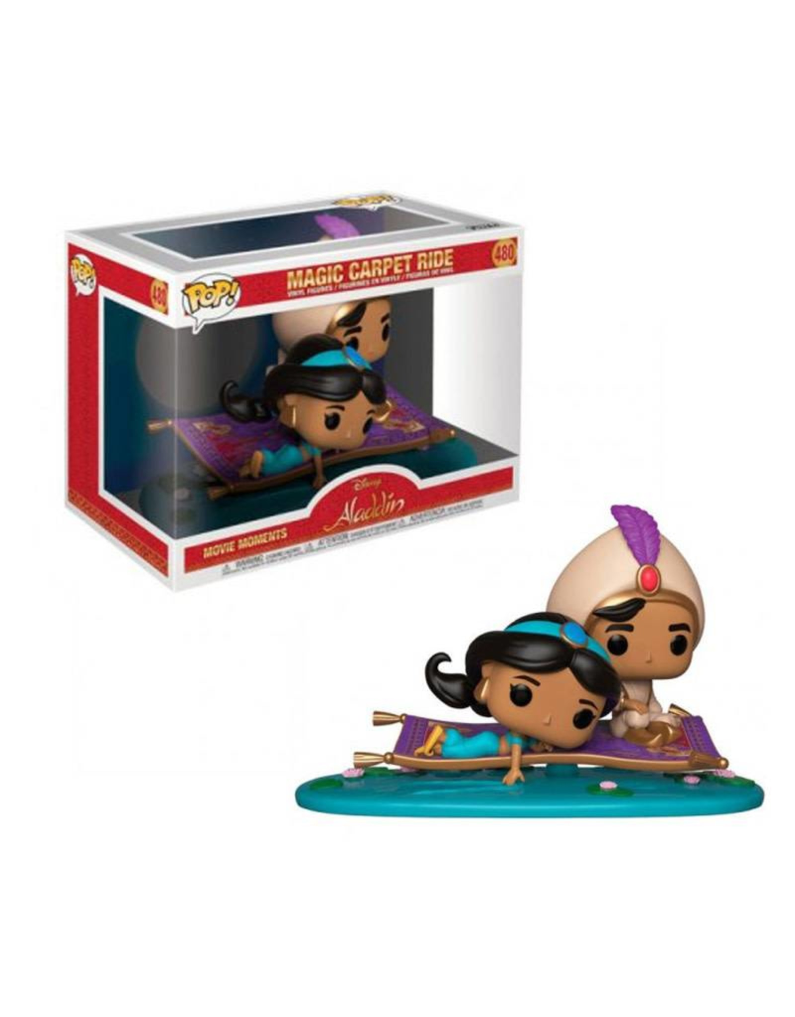 Disney Aladdin 480  ( Funko Pop ) Magic Carpet Ride