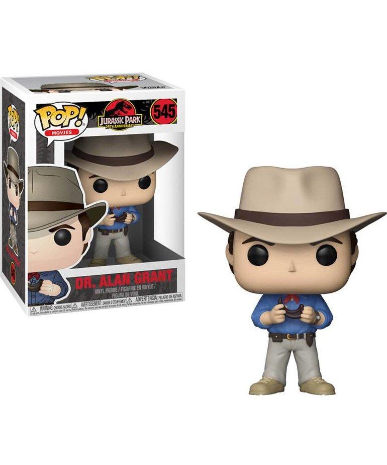 Jurassic Park Dr. Alan Grant 545 ( Funko Pop )