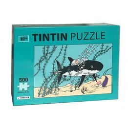 Tintin Tintin ( casse-tête 500 morceaux ) sous-marin