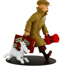Tintin Tintin ( Figurine en Résine 22 cm ) Ils Arrivent