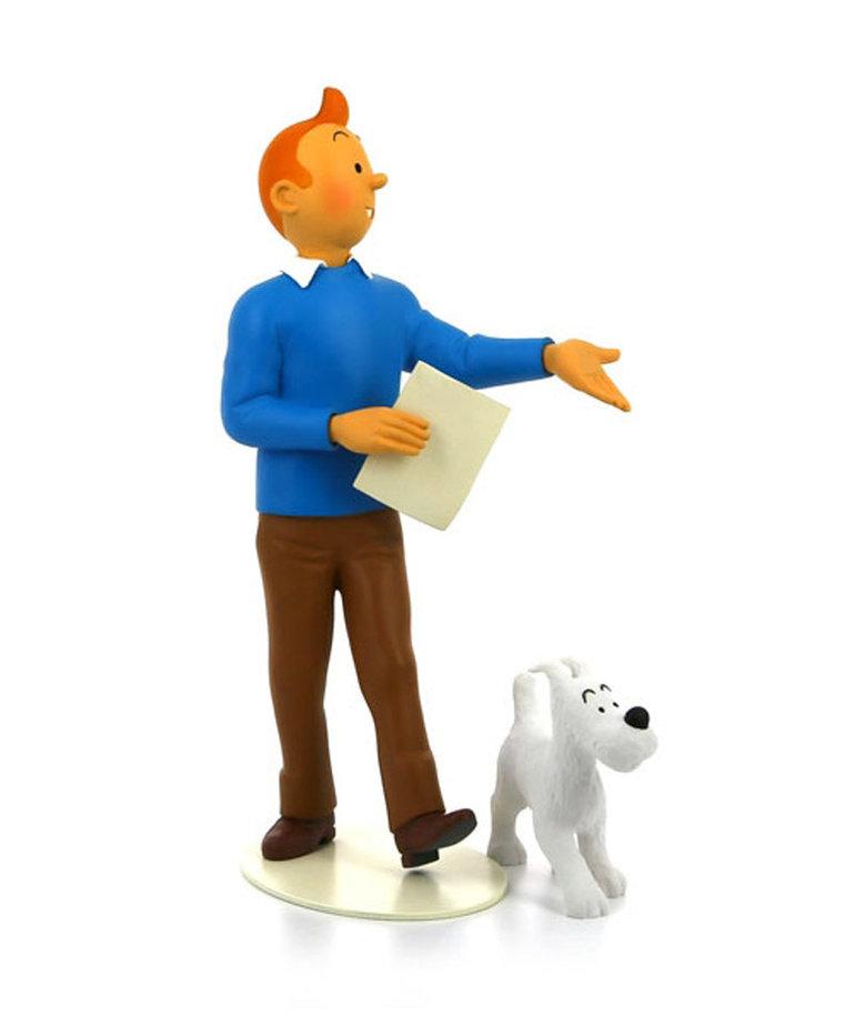 Tintin Tintin ( Musée Imaginaire Collection ) Tintin & Snowy