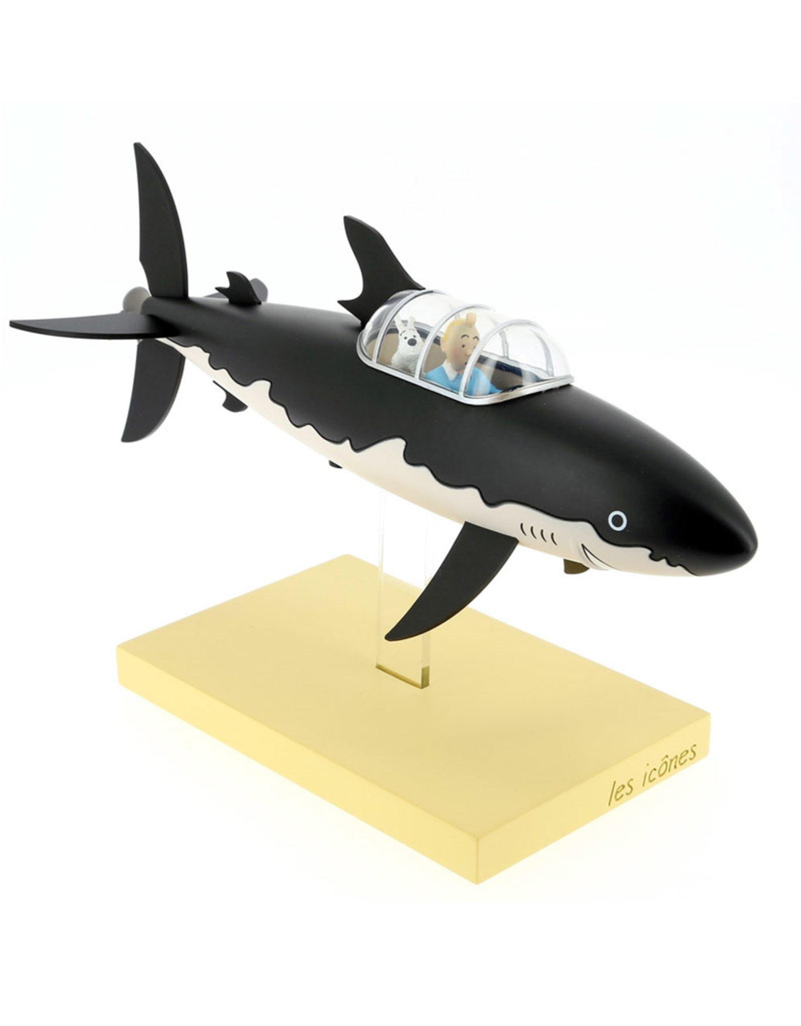 Tintin Tintin ( Collection Les Icônes ) Sous-Marin Requin