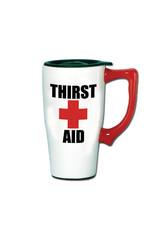 Thirst Aid ( Ceramic Travel Mug )