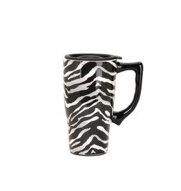 Zebra ( Ceramic Travel Mug )
