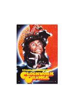 Clockwork Orange ( Tin signs 8.5cm x 11.5cm ) Stanley Kubrisk's