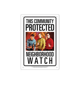 Star Trek ( Tin signs 8.5cm x 11.5cm ) watch
