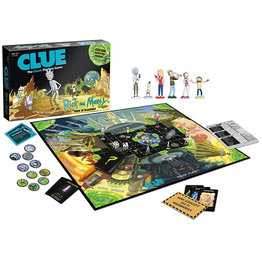 Rick and Morty Rick and Morty ( CLue ) version anglaise