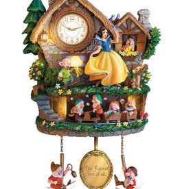 Disney Disney ( Horloge animée ) Blanche-Neige