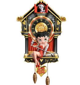 Betty Boop Betty Boop ( Horloge animée )