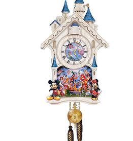 Disney Disney ( Animated Clock ) Castle