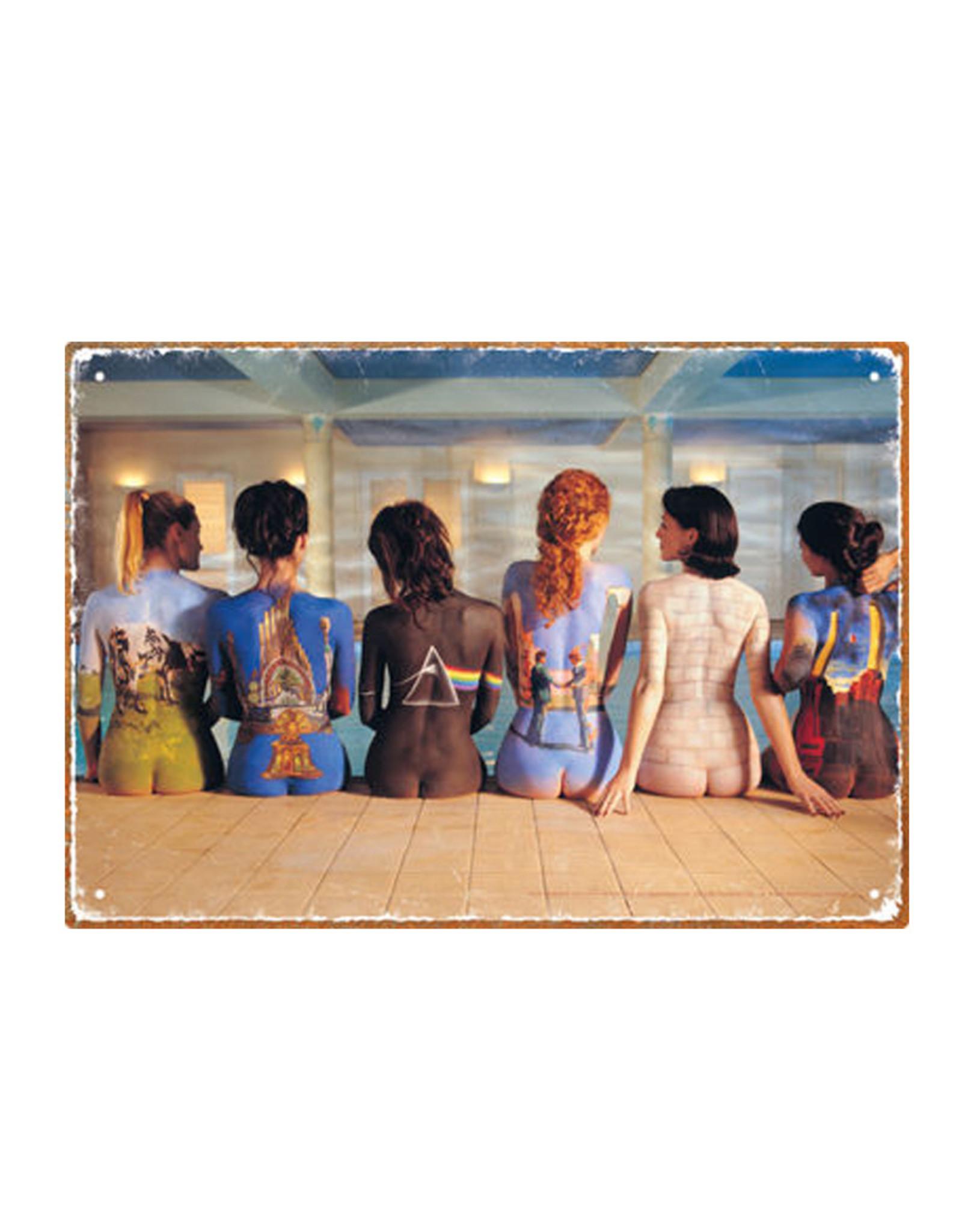 Pink Floyd ( Tin signs 8.5cm x 11.5cm ) Back art