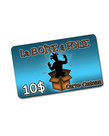 Gift Card ( 10$ ) For store only
